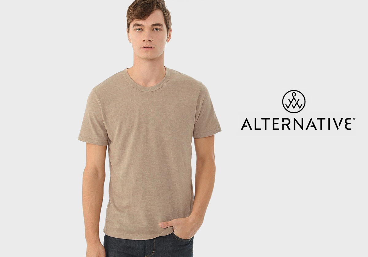 Alternative Apparel quality t-shirt blanks