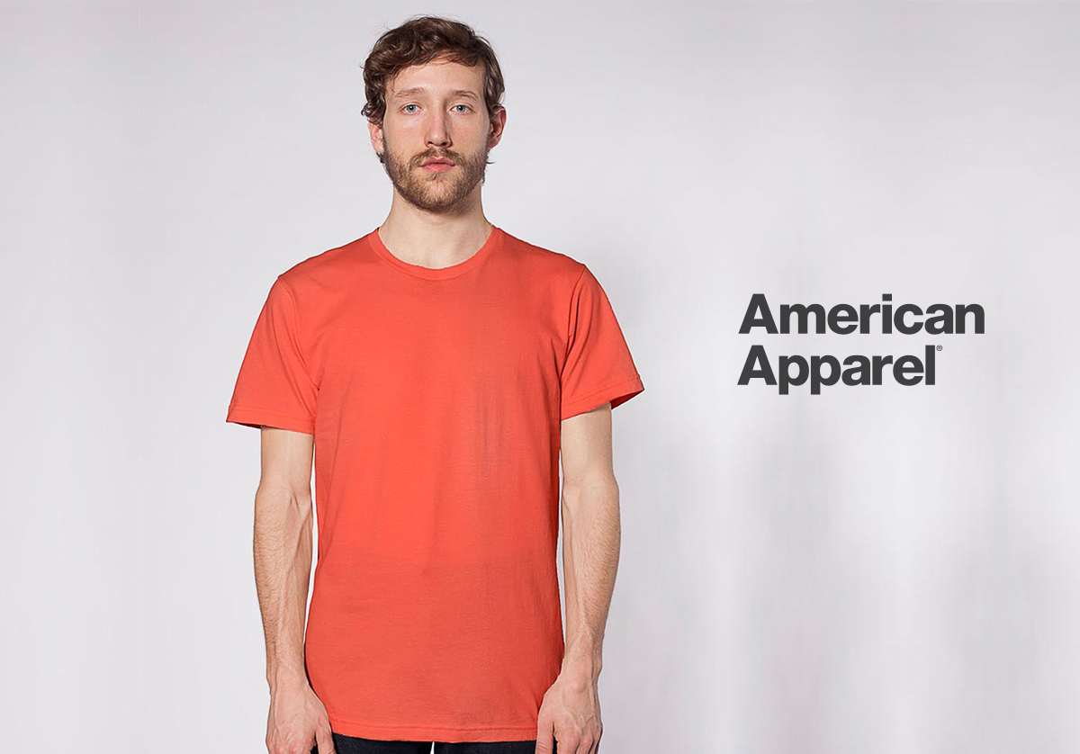 American Apparel quality t-shirt blanks
