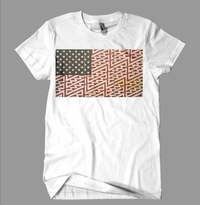 American Flag Tee by Black Heartz