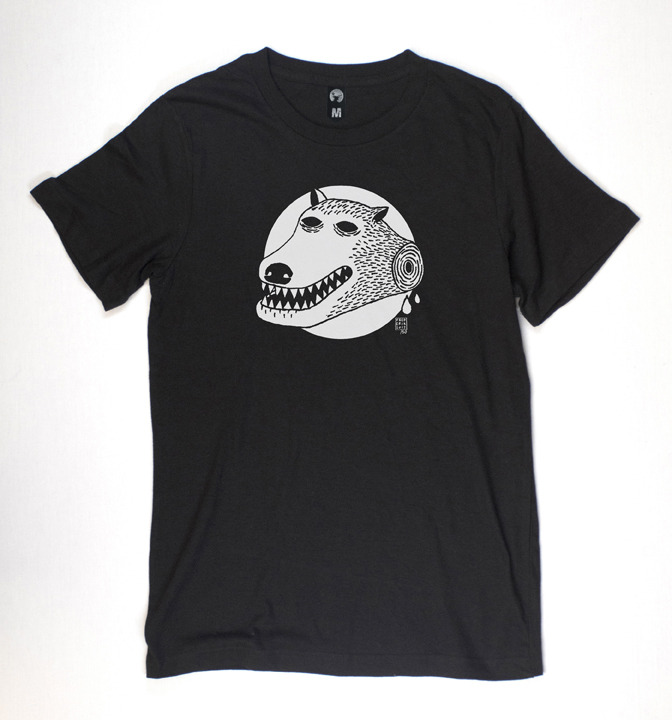 T-Shirt Magazine | Frederik Garcia - Dog T-Shirt
