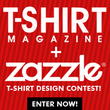 Zazzle X T-Shirt Magazine Design Contest