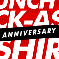 Launch A Kick-Ass T-Shirt Brand 1 Year Anniversary Sale