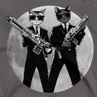 Captain Feline T-Shirts Debut