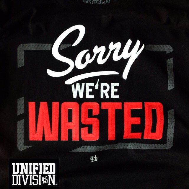Sorry-we're-Wasted