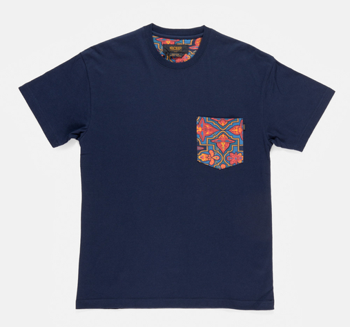 Tribes-pocket-tee-navy