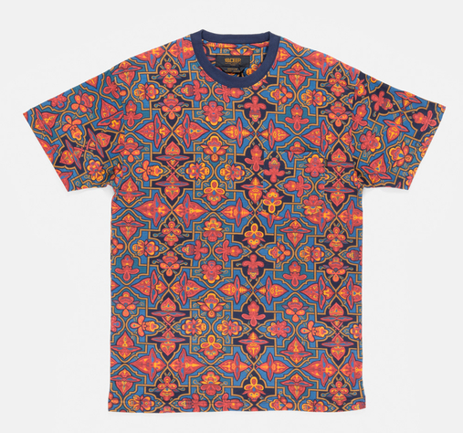 Tribes-pocket-tee-orange-alhambra
