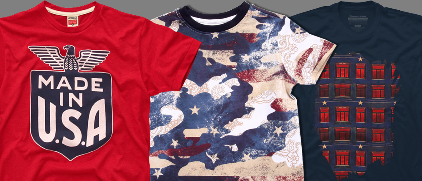 4th of july tees slider