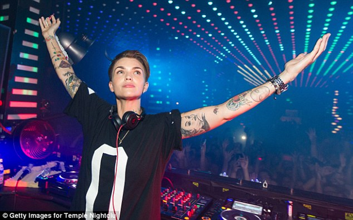 ruby rose temple nightclub getty images