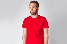 the 30 year t-shirt tom cridland chilli red