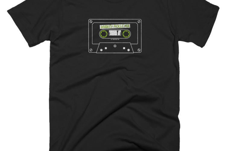 whiskey-pickle-mix-tape-retro-t-shirt